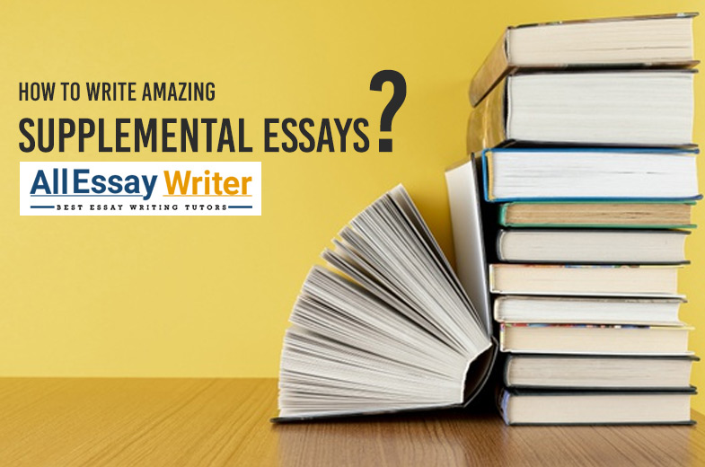 Supplemental essay writing