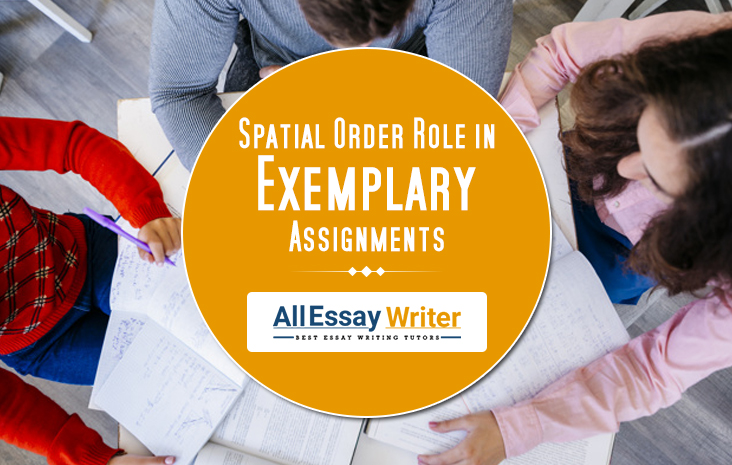Spatial Order Role in Exemplary Assignments